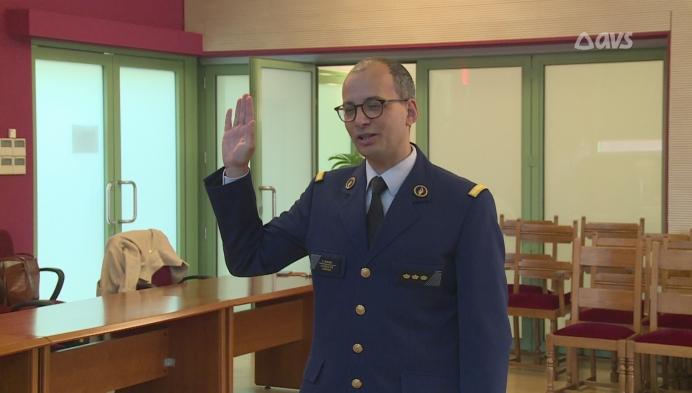 Jongste korpschef van Vlaanderen (37) legt de eed af