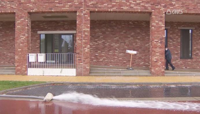 Odette zorgt voor wateroverlast.