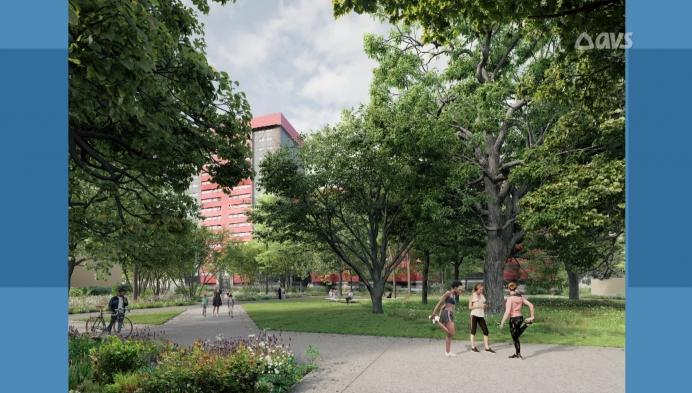 Buurtbewoners Nieuw Gent krijgen inkijk in plannen nieuw park