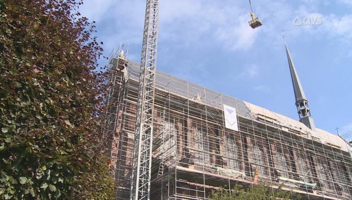 Meest spitse toren van Gent wordt gerestaureerd