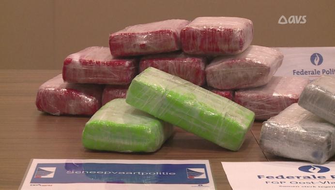 70 kilogram cocaïne onderschept in Gentse haven