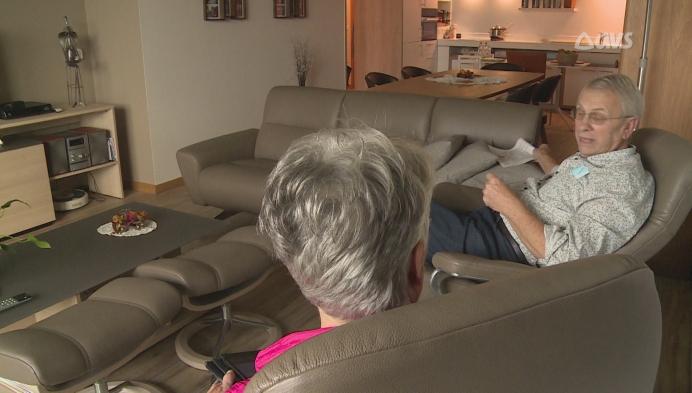 Rusthuisbewoners videobellen via televisie